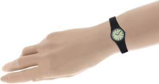 Maxima 03434PPLW Aqua Regular Analog Yellow Dial Women's Watch (03434PPLW)