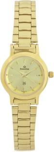 Maxima 04622CMLY Analog Gold Dial Women's Watch (04622CMLY)