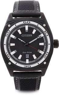 Citizen Eco-Drive AW1050-01E Analog Black Dial Men's Watch