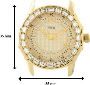 Guess W0018L2 Gold Dial Analog Women's Watch (W0018L2)
