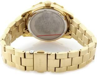Guess W0018L2 Gold Dial Analog Women's Watch