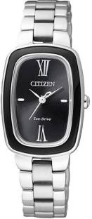 Citizen Eco-Drive EM0007-51E Analog Black Dial Women's Watch (EM0007-51E)