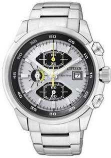 Citizen Eco-Drive CA0130-58A Analog White Dial Men's Watch