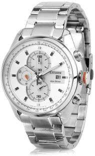 Citizen Eco-Drive CA0360-58A Analog White Dial Men's Watch