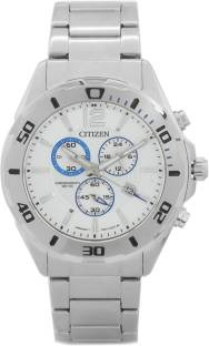 Citizen AN7110-56A Analog White Dial Men's Watch (AN7110-56A)