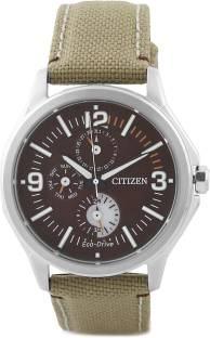 Citizen Eco-Drive AP4000-07W Analog Brown Dial Men's Watch
