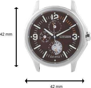 Citizen Eco-Drive AP4000-07W Analog Brown Dial Men's Watch (AP4000-07W)