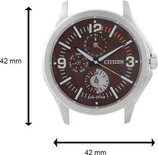 Citizen Eco-Drive AP4000-58X Analog Brown Dial Men's Watch