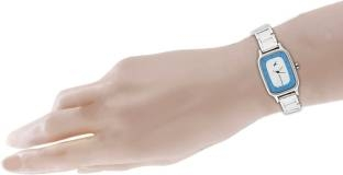 Fastrack NG6121SM01C Metal Analog Silver Watch