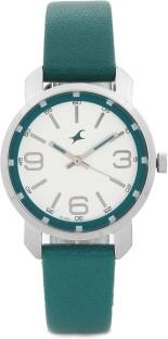 Fastrack NG6111SL01 Analog Silver Dial Women's Watch (NG6111SL01)