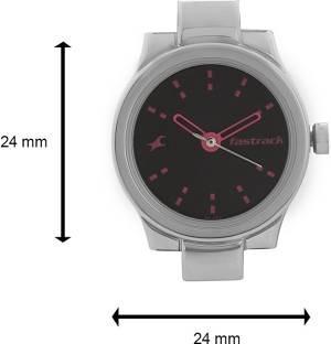Fastrack NG6114SM02C Analog Black Dial Women's Watch (NG6114SM02C)