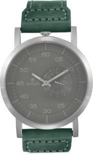 Titan 90026SL02J Road Trip Analog Grey Dial Men's Watch (90026SL02J)