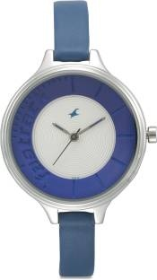 Fastrack NG6122SL01C Blue & Off-White Analogue Women's Watch
