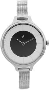 Fastrack NG6122SM02 Analog Black Dial Women's Watch (NG6122SM02)