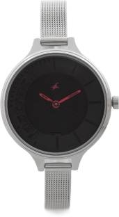 Fastrack NG6122SM03 Analog Black Dial Women's Watch