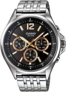 Casio Enticer MTP-E303D-1AVDF ( A957) Analog Black Dial Men's Watch