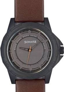Sonata NH77018PL01CJ Analog Grey Dial Men's Watch (NH77018PL01CJ)