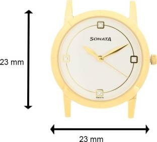 Sonata 71178137BM01C Analog Watch (71178137BM01C)
