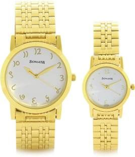 Sonata 71178137YM01C Analog Watch