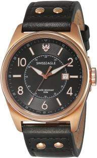 Swiss Eagle SE-9045-04 Analog Watch (SE-9045-04)