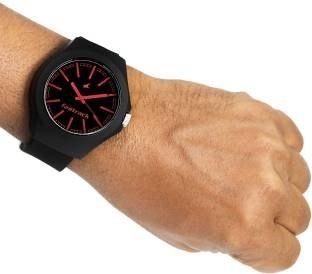 Fastrack NG38004PP06CJ Analog Black Dial Unisex Watch (NG38004PP06CJ)