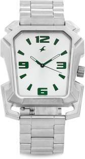 Fastrack 3131SM01C Animal Instinct Analog Silver Dial Men's Watch