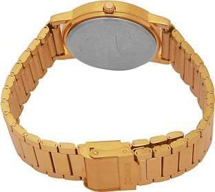 Sonata GH54 Glod Plated Analog Men's Watch
