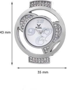 Fogg 3020-WH Modish White Dial Analog Women's Watch (3020-WH)