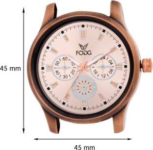 Fogg 1019-BR Analog Brown Dial Men's Watch (1019-BR)