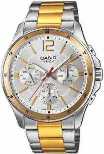 Casio Enticer MTP-1374SG-7AVDF (A954) Analog White Dial Men's Watch