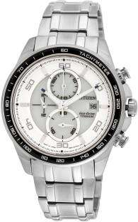 Citizen Eco-Drive CA0341-52A Analog White Dial Men's Watch