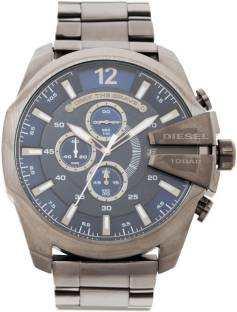 Diesel DZ4329I Chi Gunmetal Blue Chronograph Men's Watch (DZ4329I)
