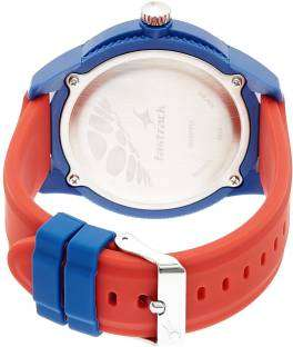 Fastrack 38019PP01J Tees Analog Blue Dial Unisex Watch