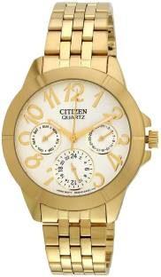 Citizen ED8102-56A Analog White Dial Women's Watch