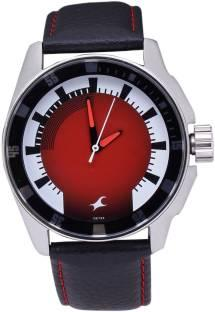 Fastrack 3089SL10 Upgrades Analog Red Dial Men's Watch