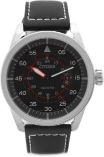 Citizen Eco-Drive AW1360-04E Analog Black Dial Men's Watch (AW1360-04E)