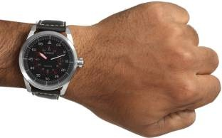 Citizen Eco-Drive AW1360-04E Analog Black Dial Men's Watch