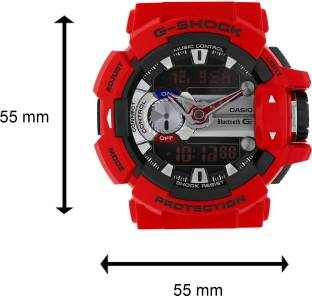 Casio G-Shock GBA-400-4ADR (G559) Analog-Digital Red Dial Men's Watch