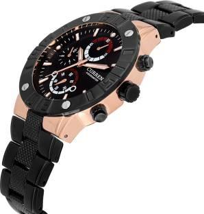 Curren CUR072 Black Analogue Men's Watch