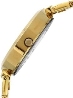 Timex TW000X208 Fashion Analog Gold Dial Women's Watch (TW000X208)