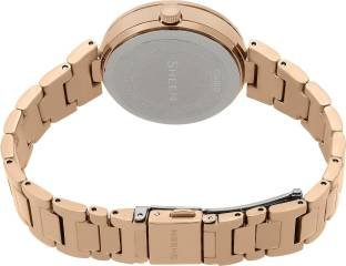 Casio Sheen SHE-3043PG-9AUDR (SX162) Analog Multi Colour Dial Women's Watch (SHE-3043PG-9AUDR (SX162))