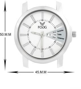 Fogg 2030-WH Analog White Dial Men's Watch