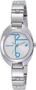 Fastrack 6125SM02 Analog White Dial Women's Watch