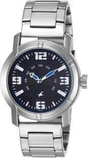Fastrack NG3021SM03 Upgrades Analog Silver Dial Men's Watch