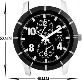 Fogg 2022-BK Analog Black Chrono Dummy Dial Men's Watch