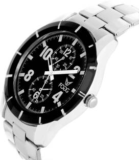Fogg 2022-BK Analog Black Chrono Dummy Dial Men's Watch (2022-BK)