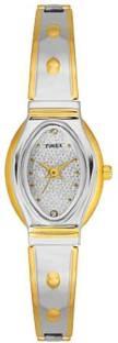 Timex TW000JW19 Classics Silver Dial Color Women's Watch (TW000JW19)