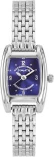 Sonata 8103SM01C Professional Analog Blue Dial Women's Watch