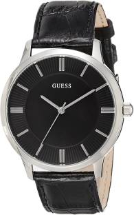 Guess W0664G1 Black Dial Analog Men's Watch