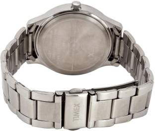 Timex TI000Q80000 E Class Analog Silver Dial Women's Watch (TI000Q80000)